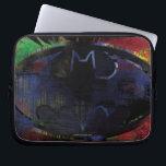 """Painted Bat Symbol Computer Sleeve<br><div class=""""desc"""">Batman Monthly Trend</div>"""