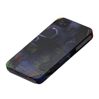 Painted Bat Symbol iPhone 4 Case