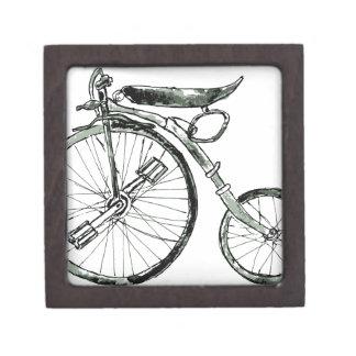 Painted Bicycle 2 Keepsake Box