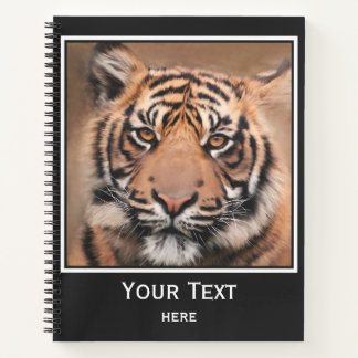 Painted Big Cat Tiger Notebook