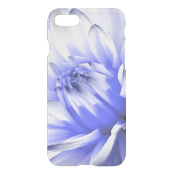 Painted Blue and White Flower iPhone 7 Case