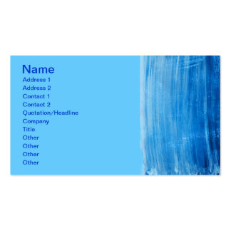 PAINTED BLUE SKY OCEAN BACKGROUNDS WALLPAPER MIXED BUSINESS CARD