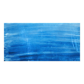 PAINTED BLUE SKY OCEAN BACKGROUNDS WALLPAPER MIXED CARD