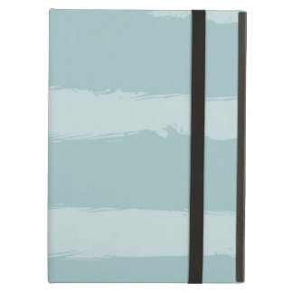 Painted Blue Stripes Case For iPad Air