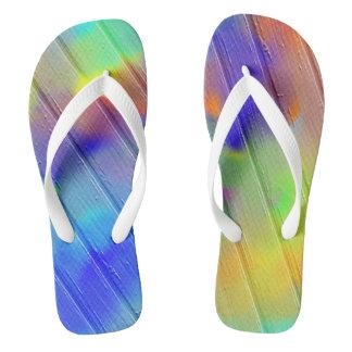 Painted Boardwalk Flip Flops