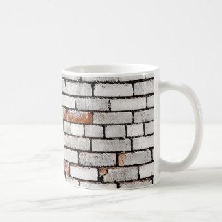 Painted Brick Coffee Mug