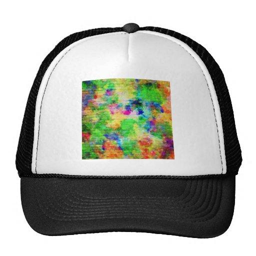 Painted Brick Wall Trucker Hats