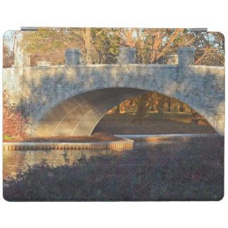 Painted Bridge At Sunset iPad Cover
