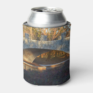 Painted Bridge At Sunset Can Cooler