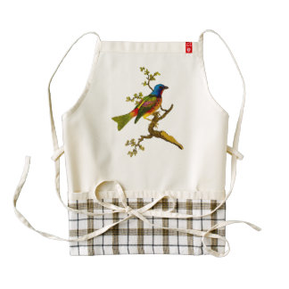 Painted Bunting Bird Apron