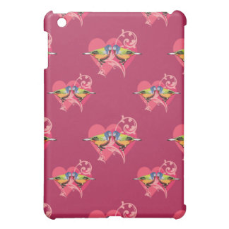 painted Bunting Birds pattern Case For The iPad Mini
