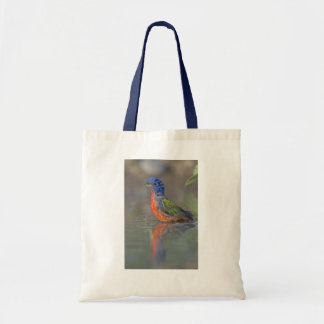 Painted Bunting Grocery Bag