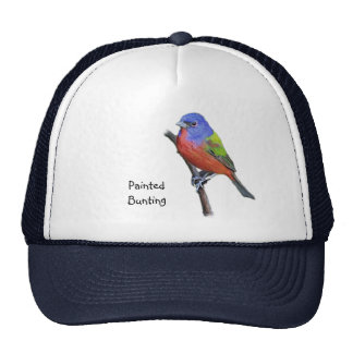 Painted Bunting Image Trucker Hat
