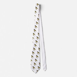 Painted Bunting Neck Tie