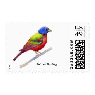 Painted Bunting Stamps
