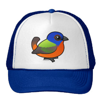 Painted Bunting Trucker Hat