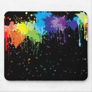Painted Butterflies Mouse Pad