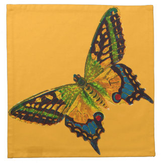 Painted Butterfly 2 Napkin