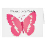 Painted Butterfly Beauty Cards
