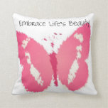 Painted Butterfly Beauty Pillow
