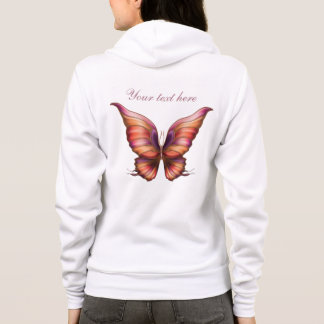 Painted Butterfly Hoodie
