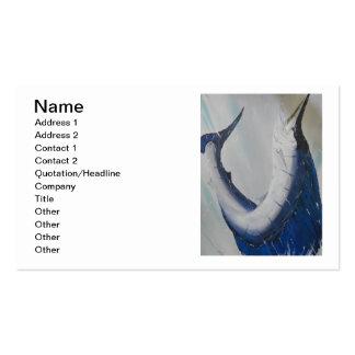 Painted By Artist CJane Business Card
