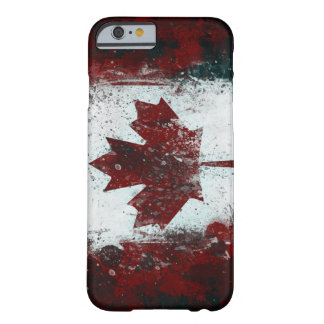 Painted Canadian Flag Barely There iPhone 6 Case