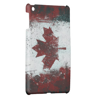 Painted Canadian Flag Case For The iPad Mini