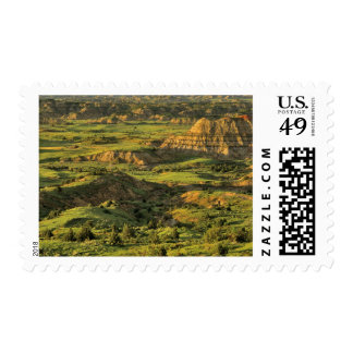 Painted Canyon After Storm in Theodore Roosevelt Postage