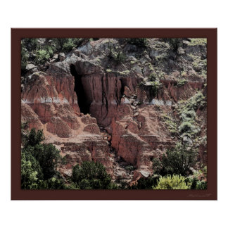 Painted Canyon Art Print -24x20 -other sizes also