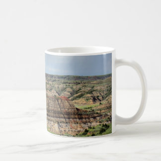 Painted Canyon in the Badlands of North Dakota Classic White Coffee Mug