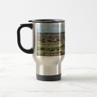 Painted Canyon in the Badlands of North Dakota Travel Mug