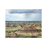 Painted Canyon in the Bandlands of North Dakota Canvas Print