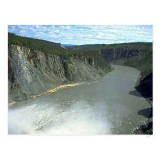 Painted Canyon on the Nahanni River, NWT, Canada Postcard