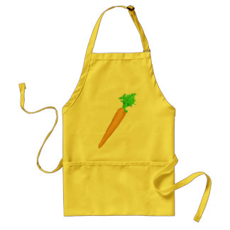 Painted Carrot Adult Apron