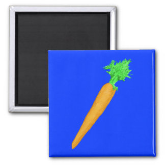 Painted Carrot Magnet