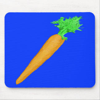 Painted Carrot Mouse Mats