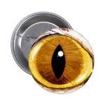 Painted Cat's Eye Pinback Buttons