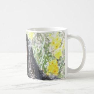 Painted Cavalier King Charles Spaniel Coffee Mugs