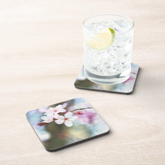 Painted Cherry Blossom Coaster
