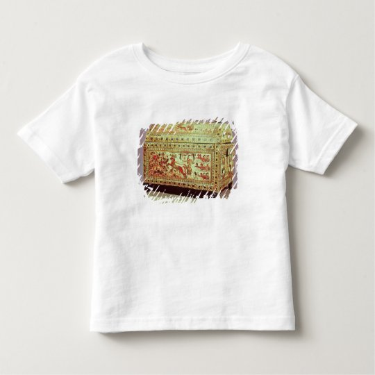 Painted chest depicting king on chariot toddler t-shirt
