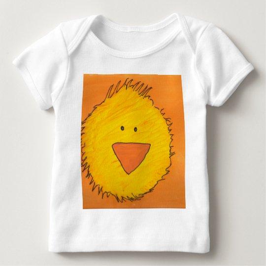 Painted Chick - Orange Baby T-Shirt