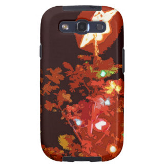 Painted Christmas Samsung Galaxy S3 Cover