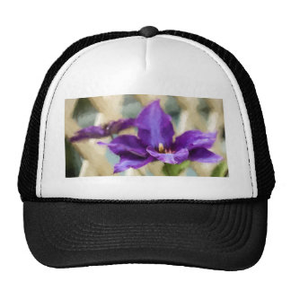 Painted Clematis Trucker Hat