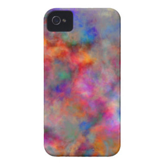 Painted Clouds abstract art by Christy iPhone 4 Case