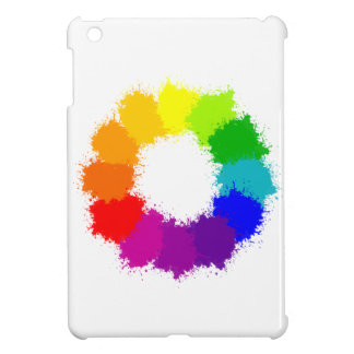 Painted Color Wheel Artist and Art Teacher Case For The iPad Mini