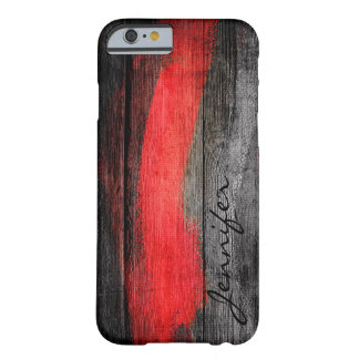 Painted Colors Wood Look #11 Barely There iPhone 6 Case