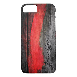 Painted Colors Wood Look #11 iPhone 7 Case