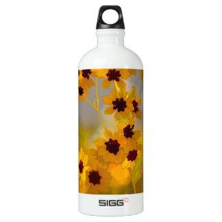 Painted Coreopsis tinctoria Wildflowers SIGG Traveler 1.0L Water Bottle