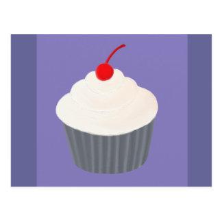 Painted Cupcake Postcard